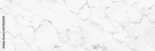 Panorama white marble texture for background or tiles floor decorative design Fototapet