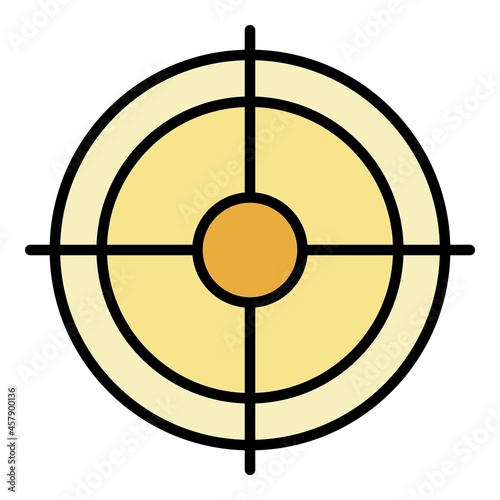 Fototapeta Shooting target icon