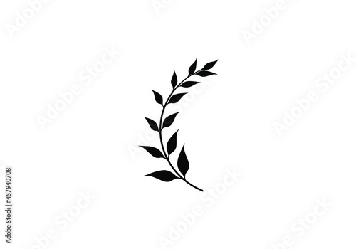 Fotografie, Obraz Laurel wreath vector. Victory vector element
