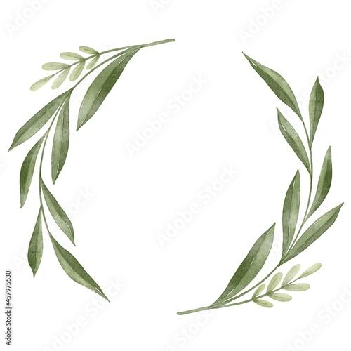 Fototapeta green laurel wreath