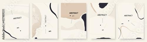 Fotografie, Obraz Modern artistic trendy universal background templates