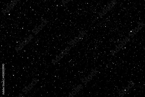 Canvas Print Starry night sky.  Galaxy space background.