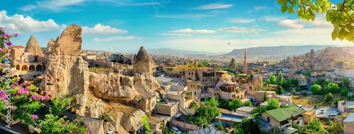 Obraz na plátně Panorama of Goreme city