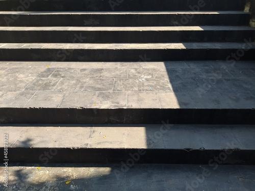 Fotografija black stone stairs