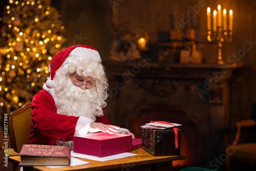 Workplace of Santa Claus Fototapet