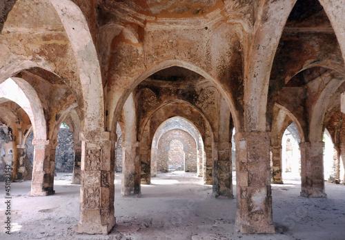 Fotografie, Obraz La salle de prière de la Grande Mosquée de Kilwa Kisiwani, 10 s