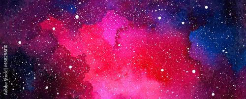 Fotografering Vector cosmic illustration