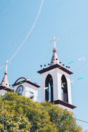 Fotografering Iglesia de pueblo
