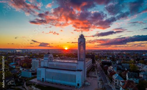 Fotografie, Obraz Kaunas our Lord Jesus Christ's Resurrection Basilica
