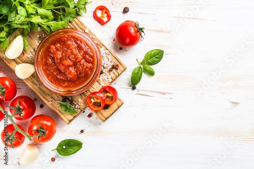 Fototapeta Tomato sauce