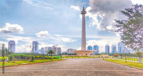 Monas Is National Monumental Of Indonesia