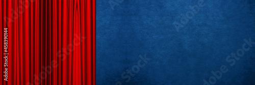 Cuadros en Lienzo red background