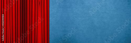Fotografering red background