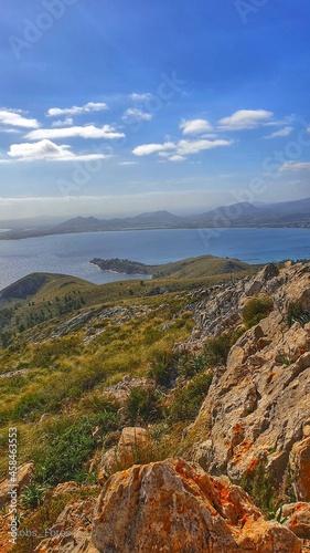 Fotografie, Obraz Scenic View Of Sea Against Sky