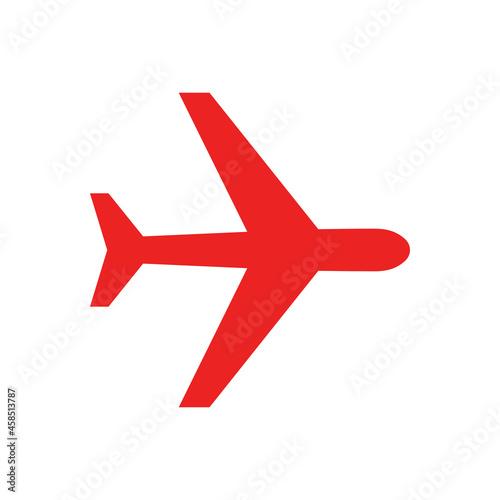 Flugzeug und Hintergrund Fototapeta
