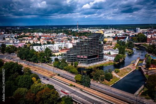 Apartamenty w Bydgoszczy Fotobehang
