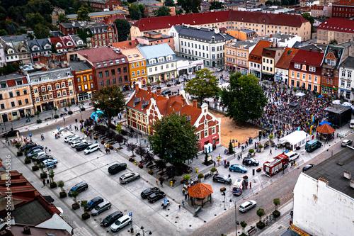 Stary rynek w Starogardzie Gdańśkim