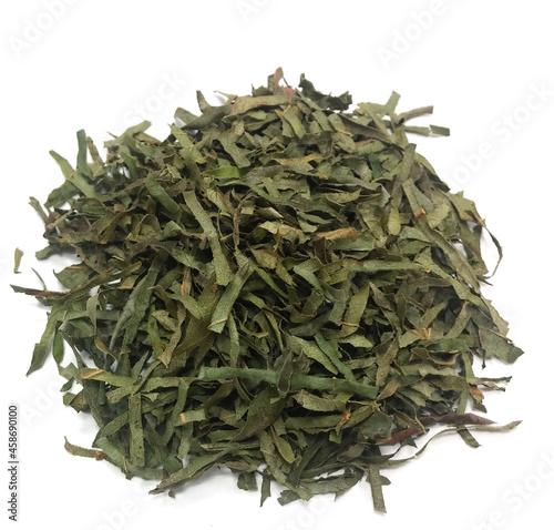 Wallpaper Mural Cut and dried Asian herbal tea persimmon leaf