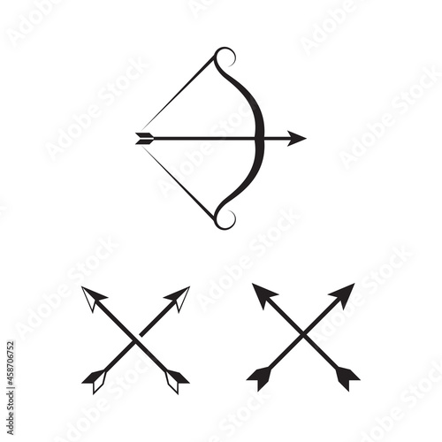 Foto Crossbow Vector icon design illustration