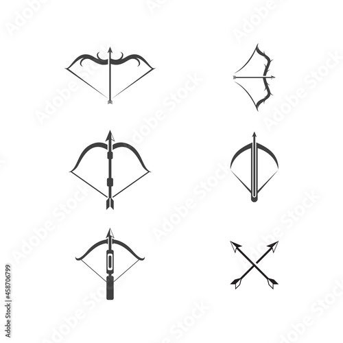 Crossbow Vector icon design illustration Fototapete