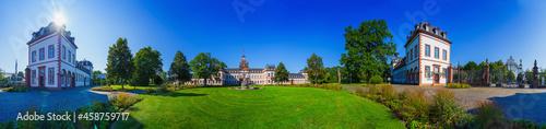 Fotografiet hanau - Philippsruhe Stadt Park in the 360 degree little planet