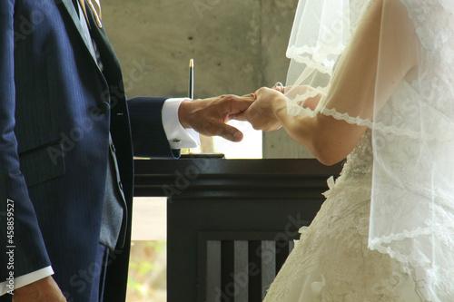 Fotografering bride and groom