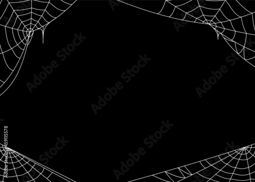Fotografie, Obraz cobweb theme background free vector