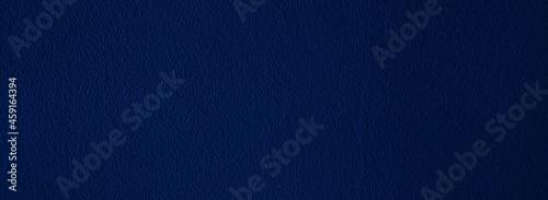 Obraz na plátně Simple navy blue textured background