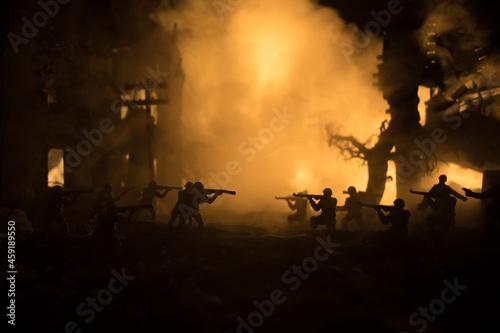 Foto War Concept
