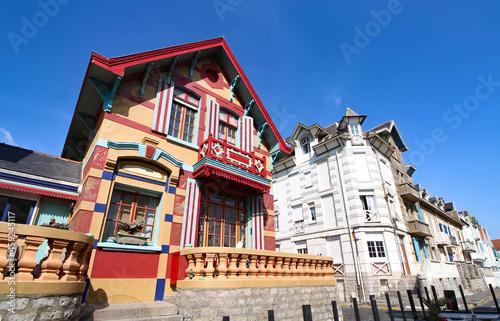 Obraz na plátně Villas à Wimereux (Hauts de France)