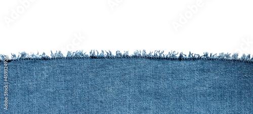 Fotografie, Tablou texture of blue jeans denim fabric background