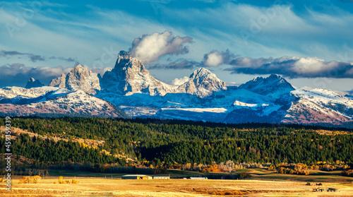 Fotografie, Obraz Grand Teton mountains