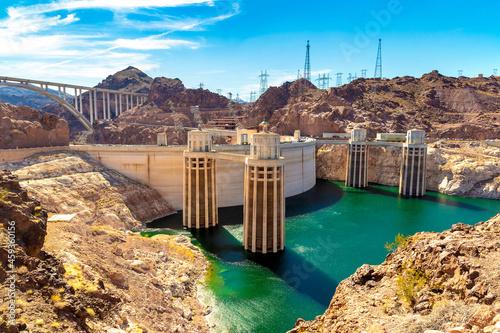 Wallpaper Mural Hoover Dam in Colorado river
