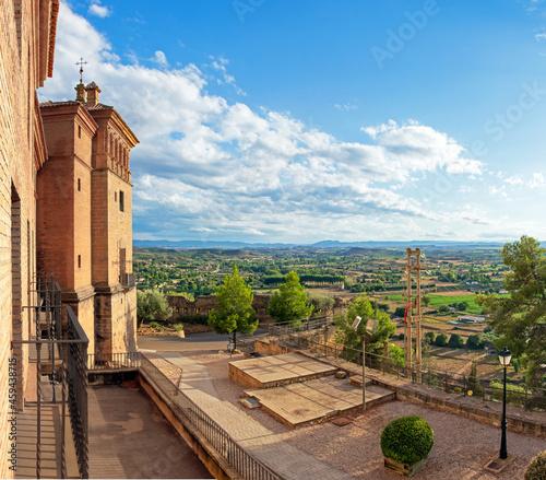 Fotografie, Obraz Late afternoon view from Calatravos castle in Alcañiz (Teruel, Aragon), over the