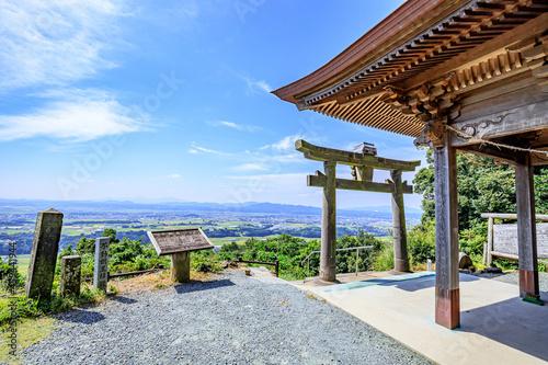 Tableau sur Toile 不動神社(不動岩)熊本県山鹿市 Fudo Shrine (Fudo-rock) Kumamoto-ken Yamaga city