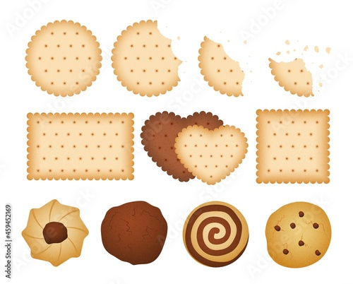 Canvas Sweet biscuits