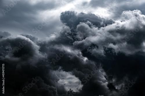 Photo Dark Storm Clouds