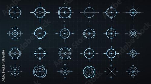 Obraz na plátně Sniper aim pointer
