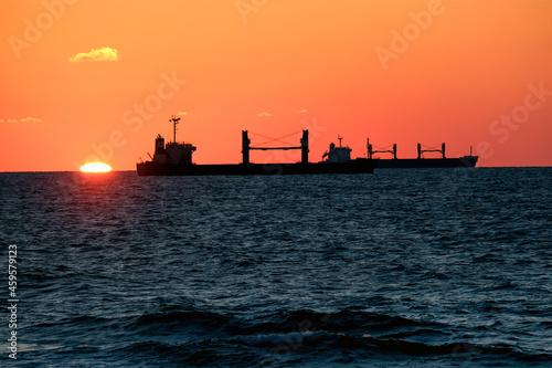 Obraz na plátně Ships in the Ashdod raid