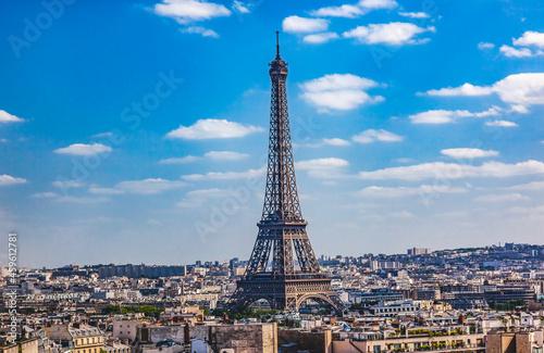 Fotografiet Eiffel Tower Paris France