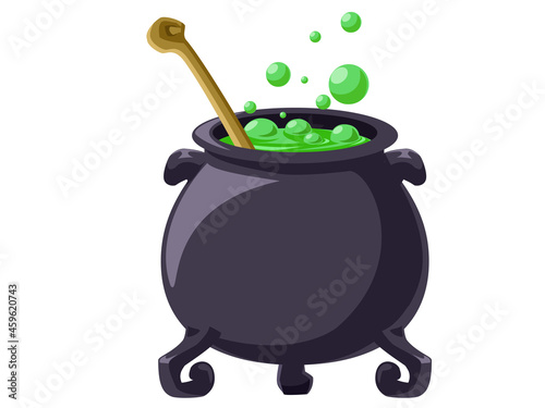Fotografia, Obraz 魔女の鍋 ハロウィン素材のアイコン/イラスト素材