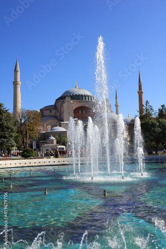 Hagia sophia museum,Istanbul Fototapet