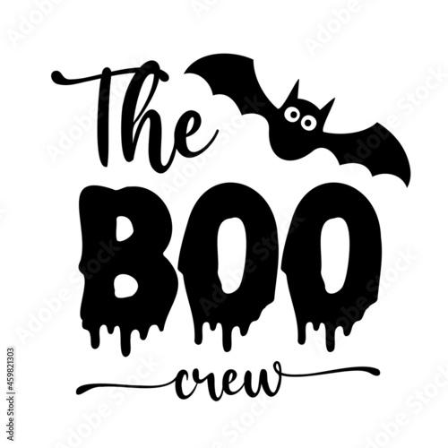Fototapeta Happy Halloween, the boo crew