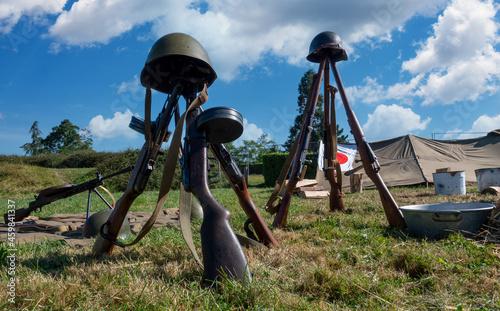 Obraz na plátně Soviet weapons of the second world war