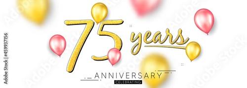 Fotografering 75 years anniversary