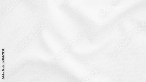 Foto Fabric backdrop White linen canvas crumpled natural cotton fabric Natural handma