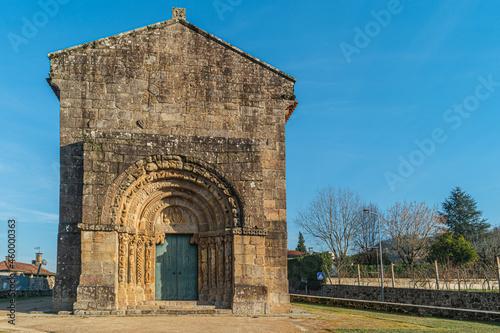 Monastery of Bravaes in Ponte da Barca, north of Portugal Fototapet