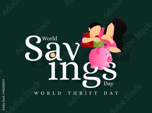 Fotografia World Savings Day