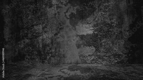 Photo Old black background