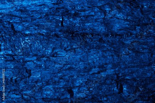 Obraz na plátně blue macro photo of coal, texture background